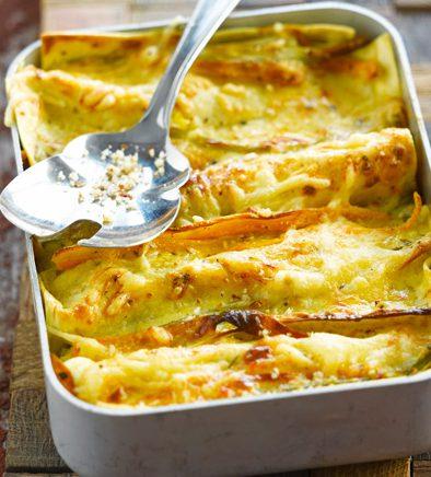 Lasagne aux panais et butternut