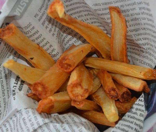 Scorsonères frites
