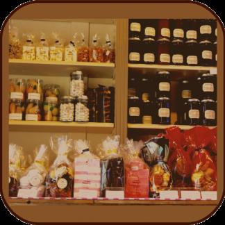 Produits chocolatés: pâte à tartiner, pralines, friandises
